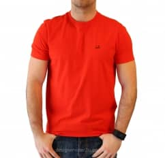 C.P Company CP Company Red T-Shirt With Goggle Hood Print