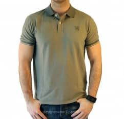 C.P Company CP Company Grey Tacting Regular Fit Polo Shirt