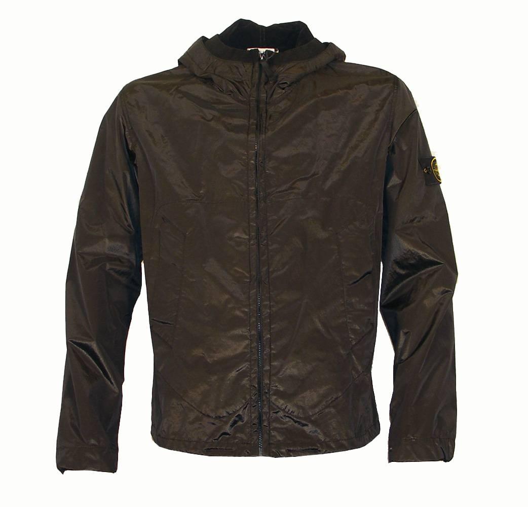 stone island black light weight shimmer jacket jackets. Black Bedroom Furniture Sets. Home Design Ideas
