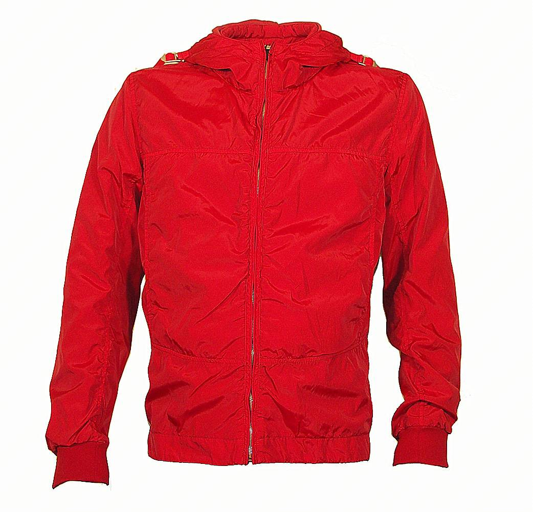 Red Nylon Windbreaker 29