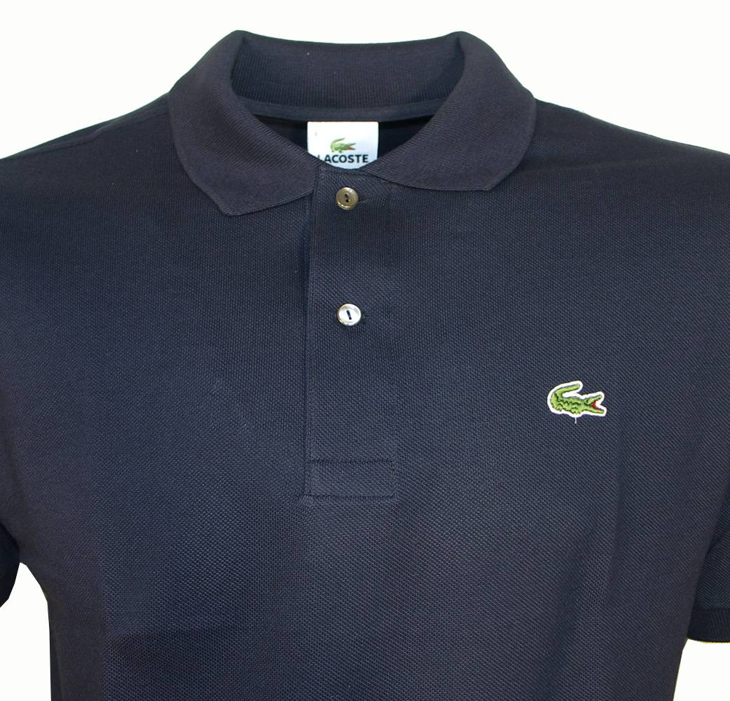 Lacoste navy polo shirt polo shirts from designerwear2u uk for Lacoste poloshirt weiay