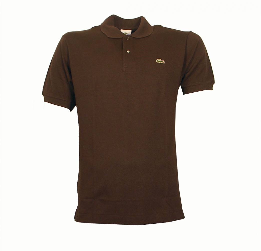 lacoste brown polo shirt polo shirts from designerwear2u uk. Black Bedroom Furniture Sets. Home Design Ideas
