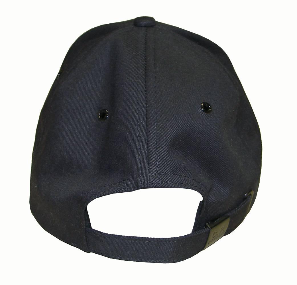 Cp Company Navy Baseball Cap Headwear From Designerwear2u Uk