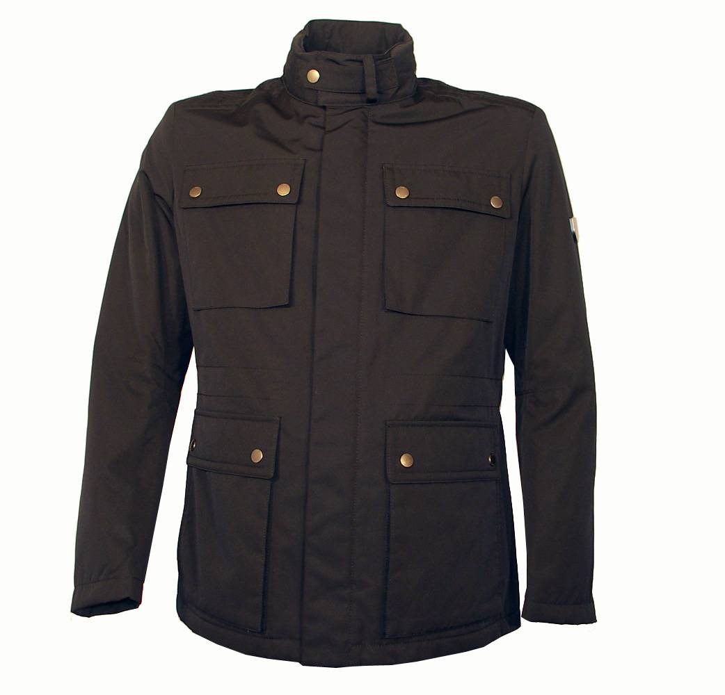 hugo boss black military style jacket jackets from designerwear2u uk. Black Bedroom Furniture Sets. Home Design Ideas