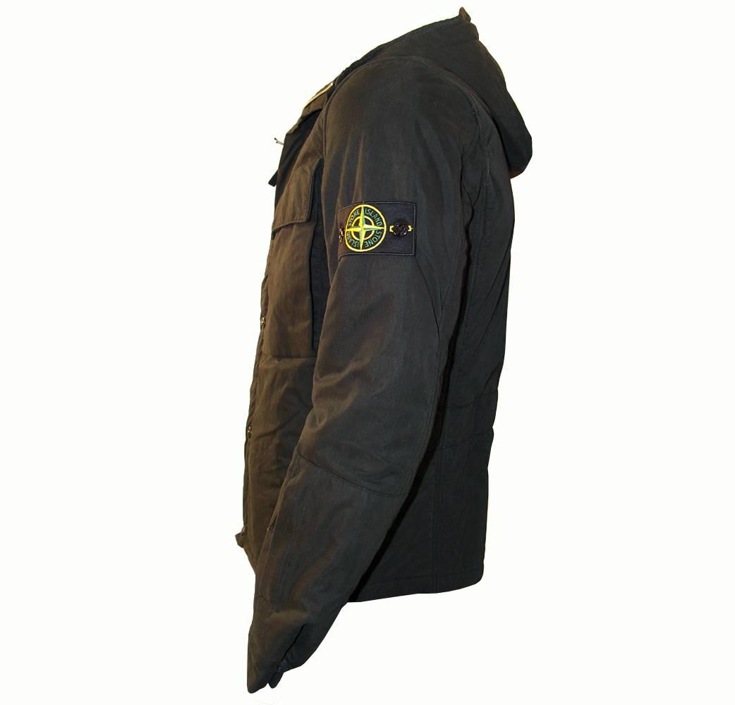 Stone Island Black Winter Jacket - Jackets From DesignerWear2U UK