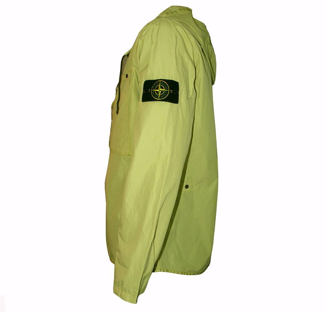 Stone Island Stone Island Yellow Hooded Jacket