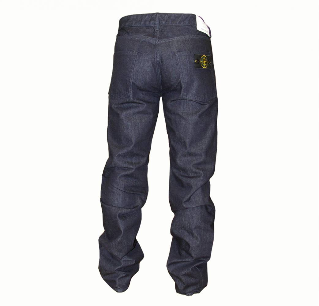 stone island dark wash jeans with badge jeans from. Black Bedroom Furniture Sets. Home Design Ideas