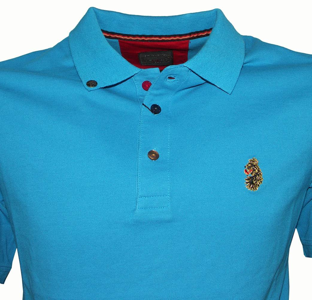 Luke williams turquoise polo shirt polo shirts from for Luke donald polo shirts
