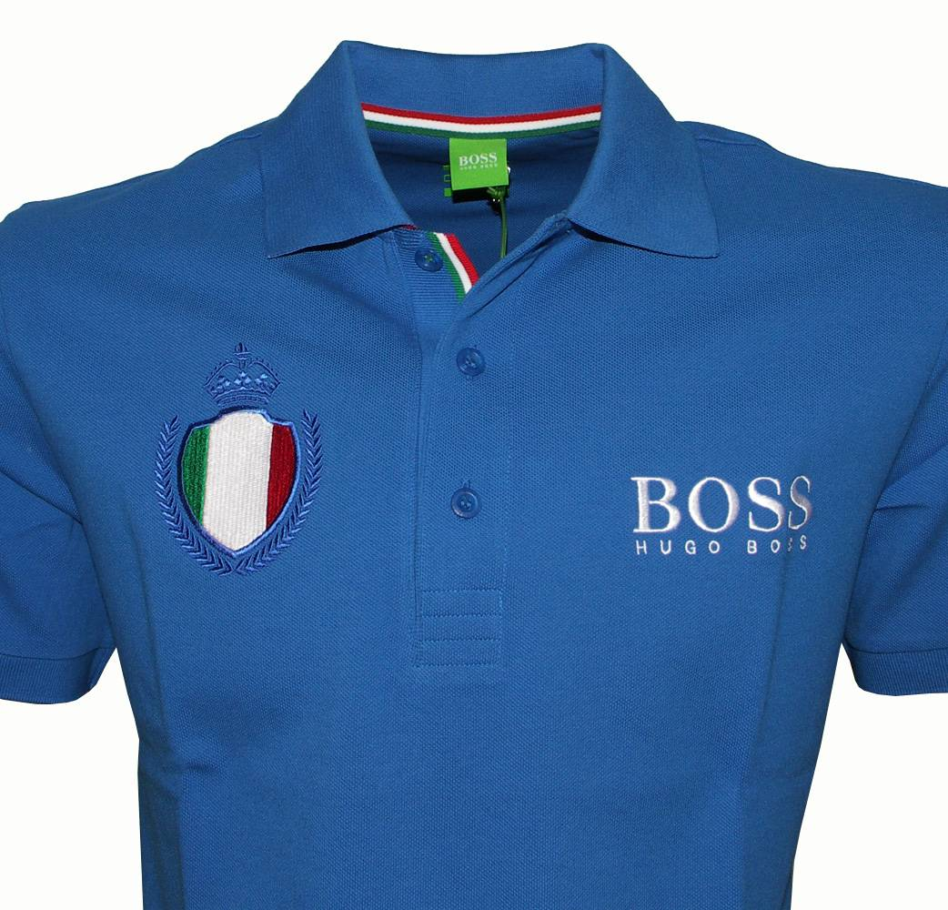 Hugo Boss Italy World Cup Polo Shirt Polo Shirts From