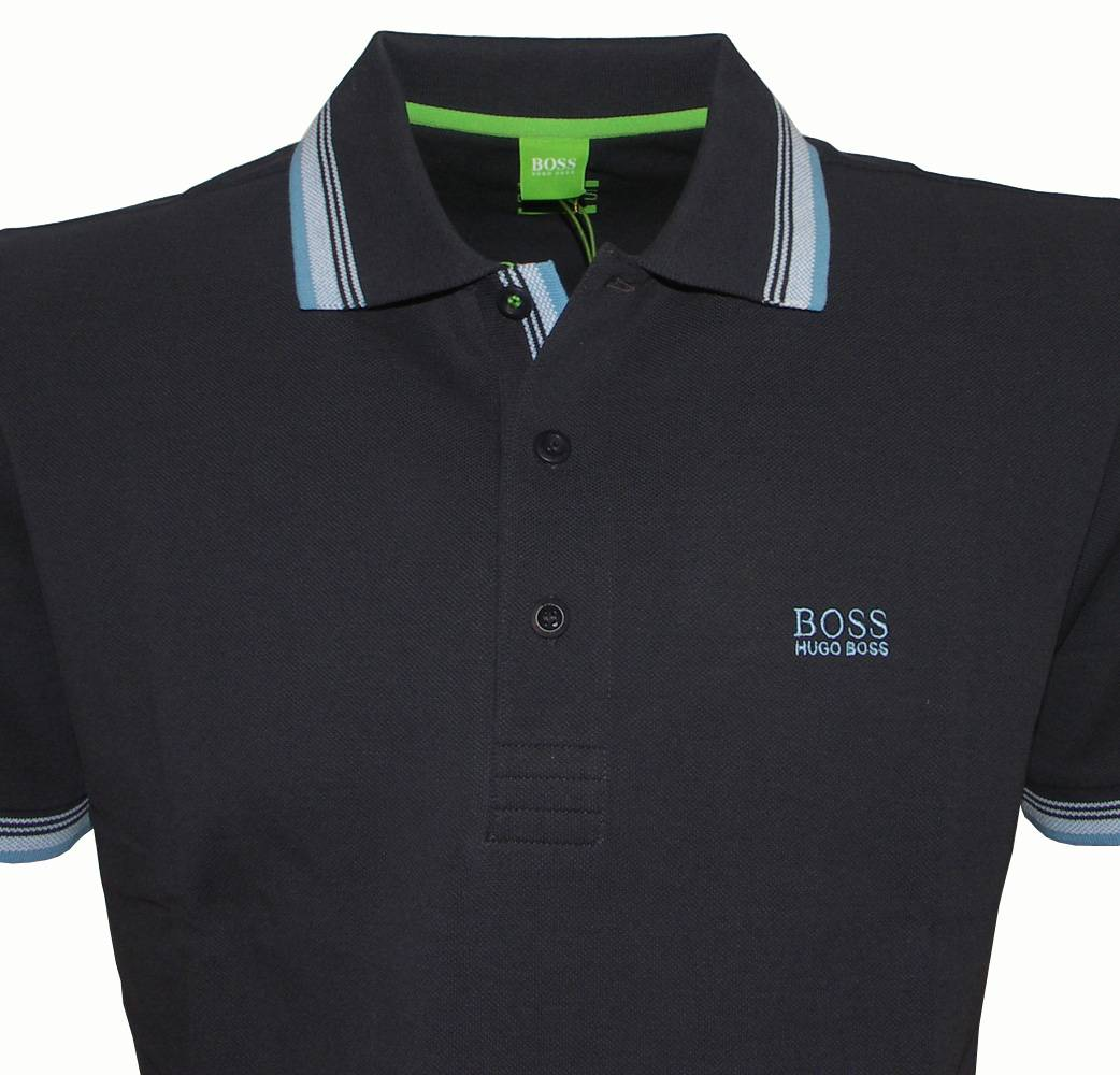 hugo boss paddy navy blue polo shirt polo shirts from. Black Bedroom Furniture Sets. Home Design Ideas