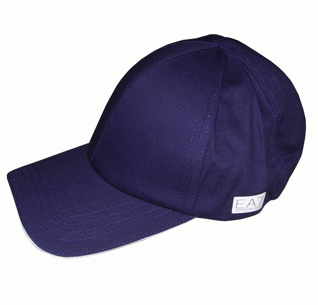 emporio armani ea7 navy baseball cap hats from