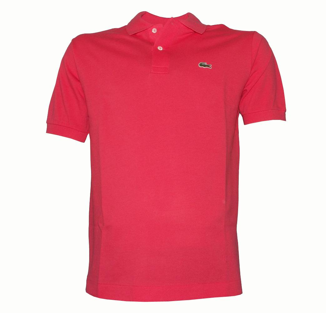 Lacoste Strawberry Pink Polo Shirt - Polo Shirts from ...
