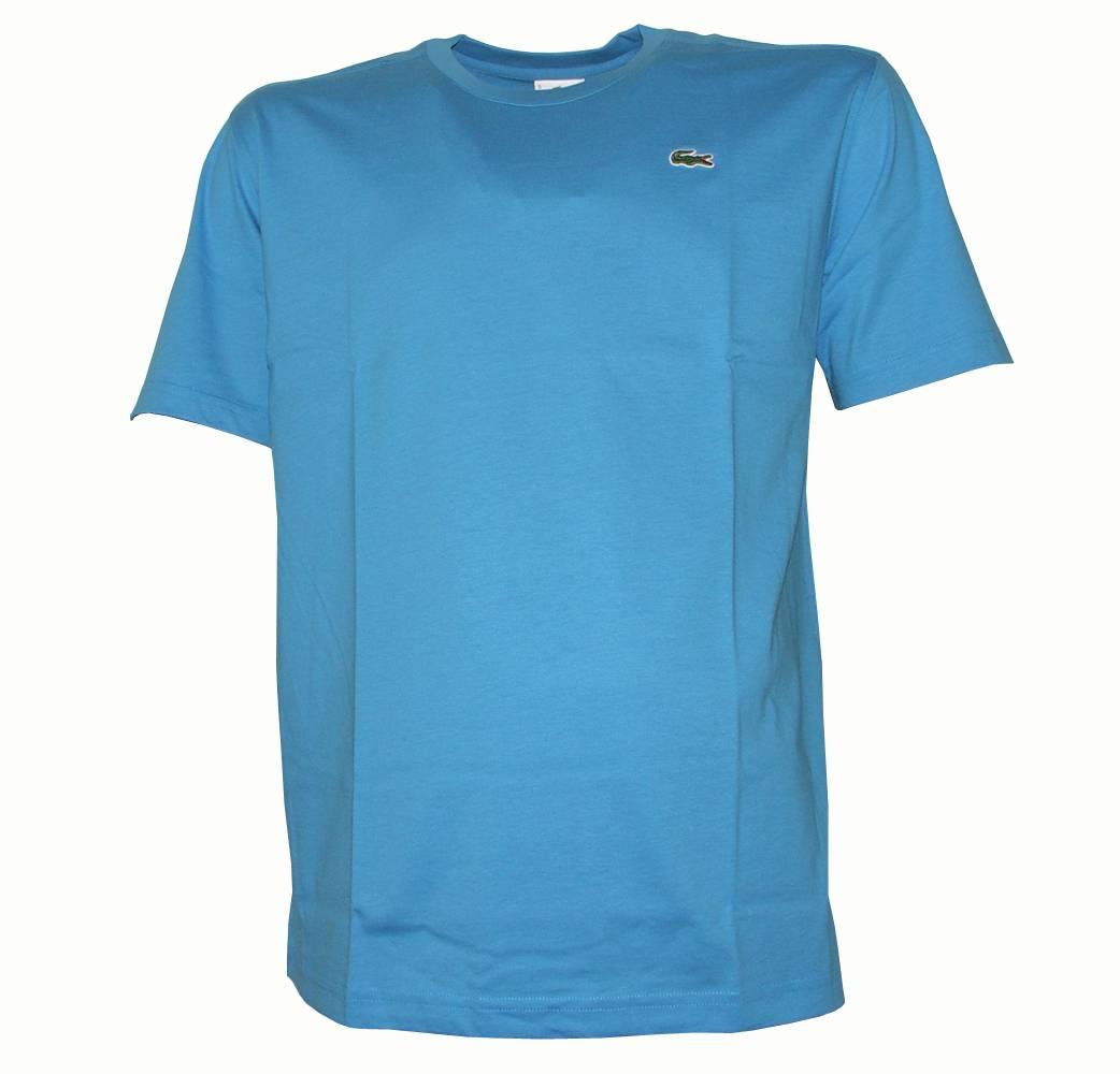lacoste plain turquoise t shirt t shirts from designerwear2u uk. Black Bedroom Furniture Sets. Home Design Ideas