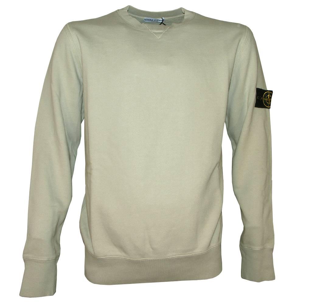 stone island beige crewneck sweatshirt sweatshirts from. Black Bedroom Furniture Sets. Home Design Ideas