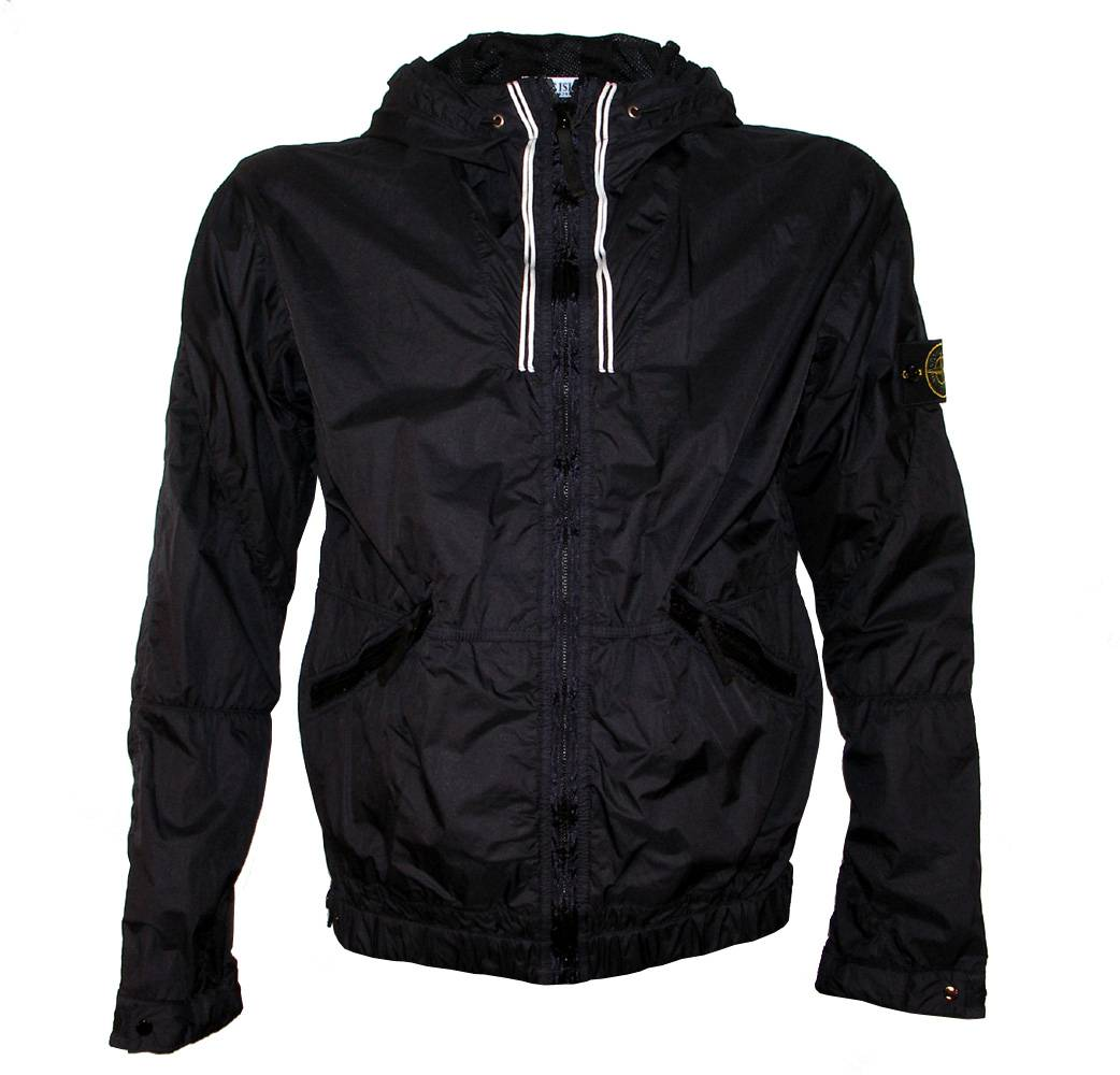 stone island navy wind stopper jacket jackets from designerwear2u uk. Black Bedroom Furniture Sets. Home Design Ideas