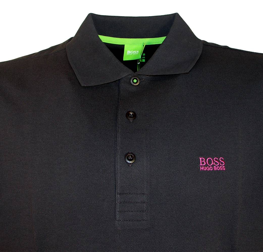 hugo boss green label navy parry polo shirt polo shirts from designerwear2u uk. Black Bedroom Furniture Sets. Home Design Ideas