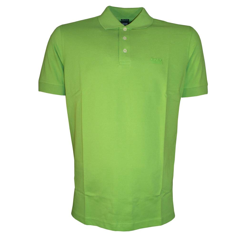 hugo boss ferrara green polo shirt polo shirts from. Black Bedroom Furniture Sets. Home Design Ideas