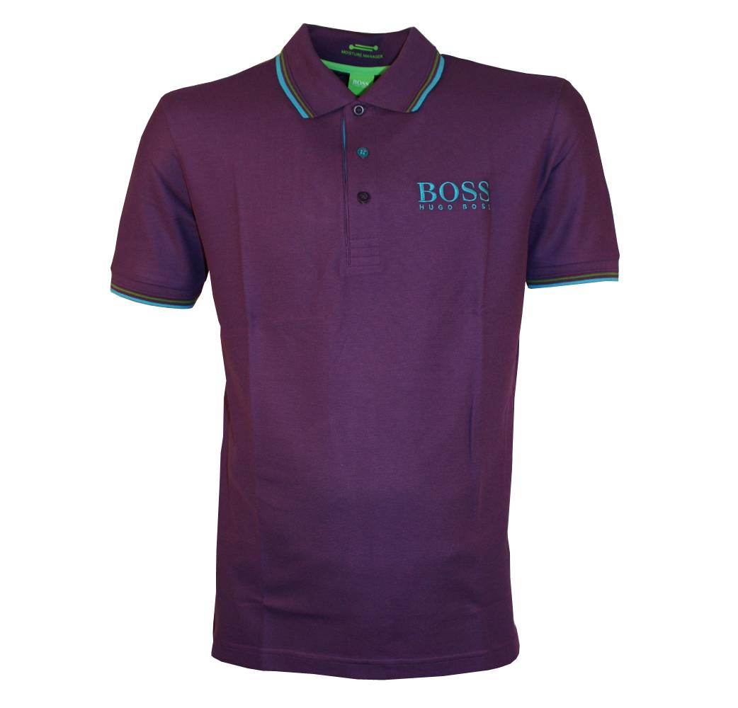 hugo boss purple paddy pro polo shirt polo shirts from. Black Bedroom Furniture Sets. Home Design Ideas