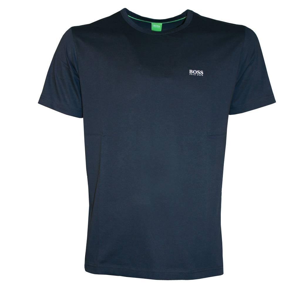 hugo boss navy tee crewneck t shirt t shirts from designerwear2u uk. Black Bedroom Furniture Sets. Home Design Ideas