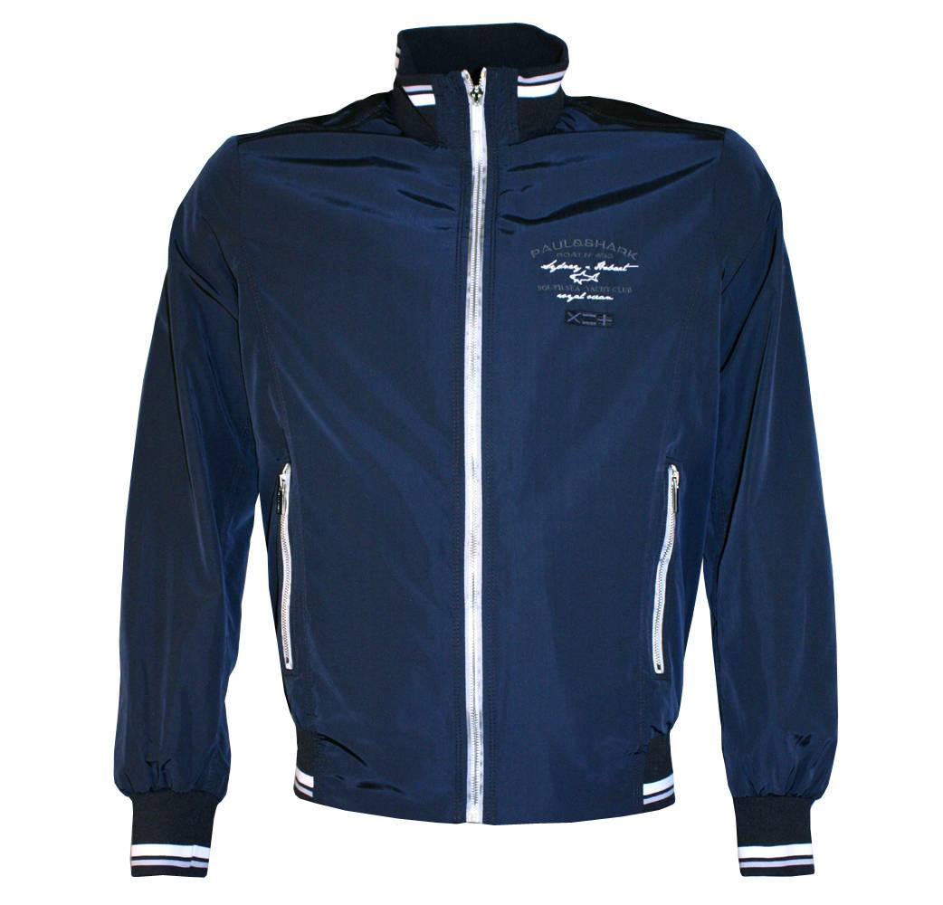 paul shark navy bomber jacket jackets from. Black Bedroom Furniture Sets. Home Design Ideas