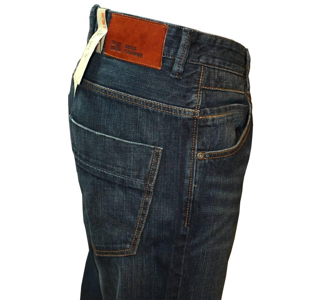 hugo boss orange 49 comfort fitting blue jeans jeans. Black Bedroom Furniture Sets. Home Design Ideas