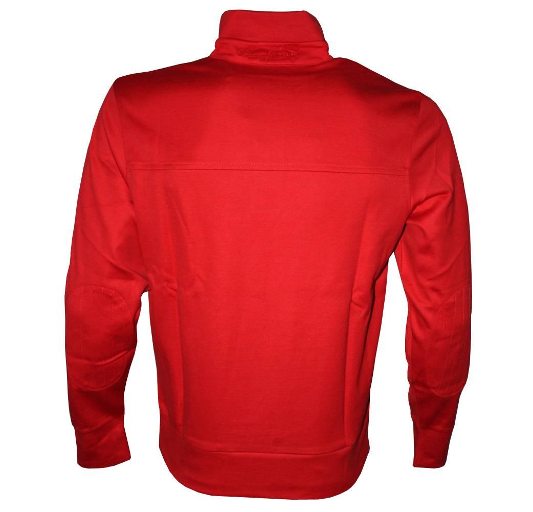 hugo boss green label red 1 4 zip sweatshirt sweatshirts. Black Bedroom Furniture Sets. Home Design Ideas