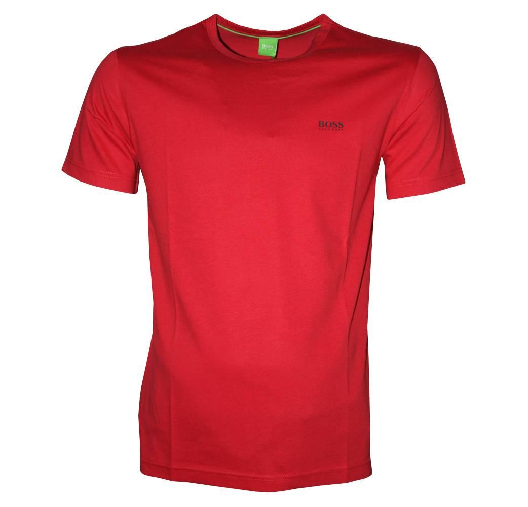 Hugo Boss Red Tee Crewneck T Shirt T Shirts From