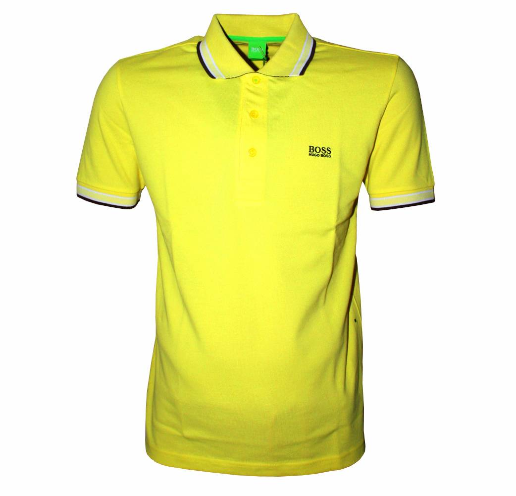hugo boss yellow paddy polo shirt polo shirts from. Black Bedroom Furniture Sets. Home Design Ideas