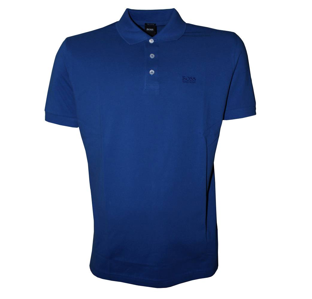 hugo boss blue ferrara polo shirt polo shirts from designerwear2u uk. Black Bedroom Furniture Sets. Home Design Ideas