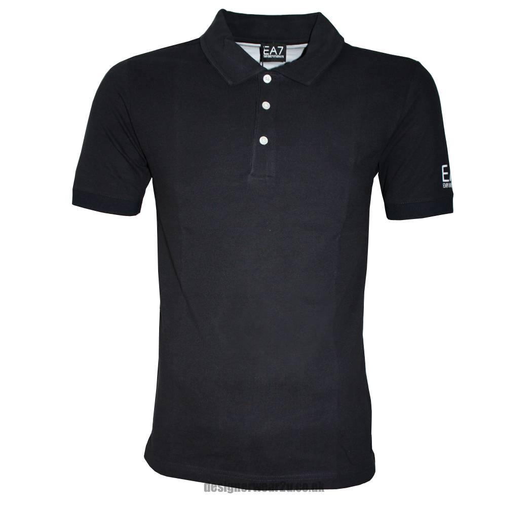 emporio armani ea7 navy polo shirt polo shirts from