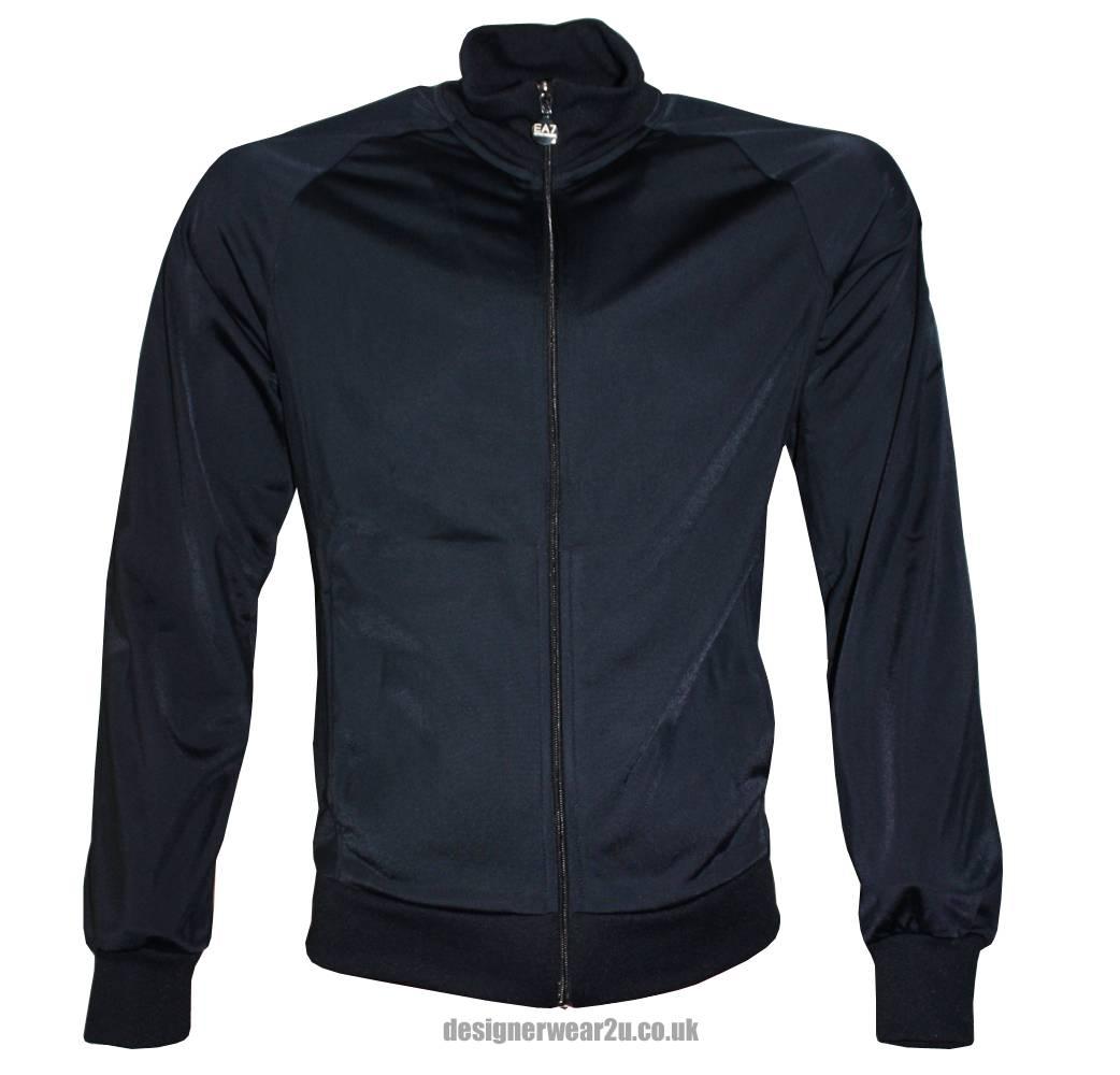 Home › Sweatshirts › Emporio Armani EA7 Navy Full Zipper Tracksuit Top