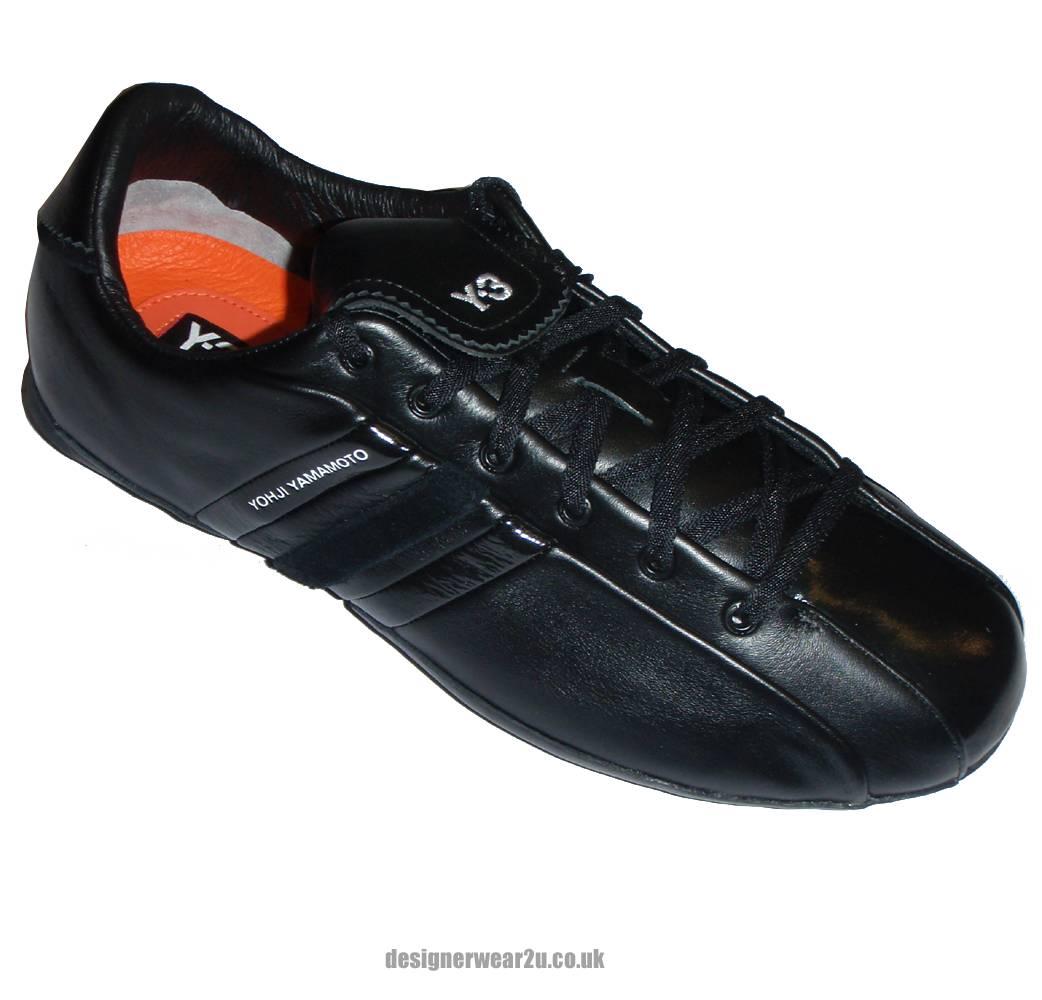 Y3 Black Field Trainers Footwear From DesignerWear2U UK