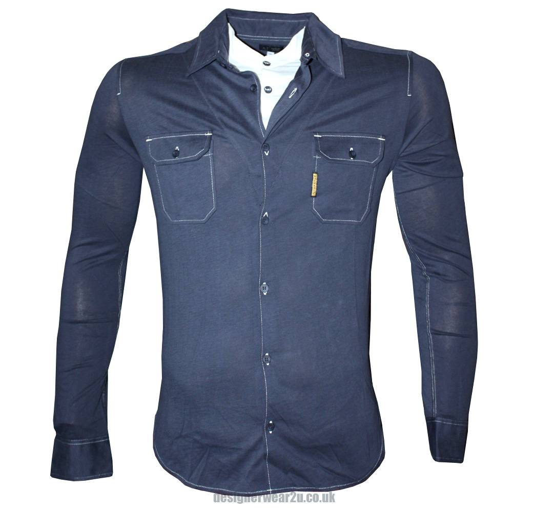 Mens Denim Shirts Uk Images Country Modern