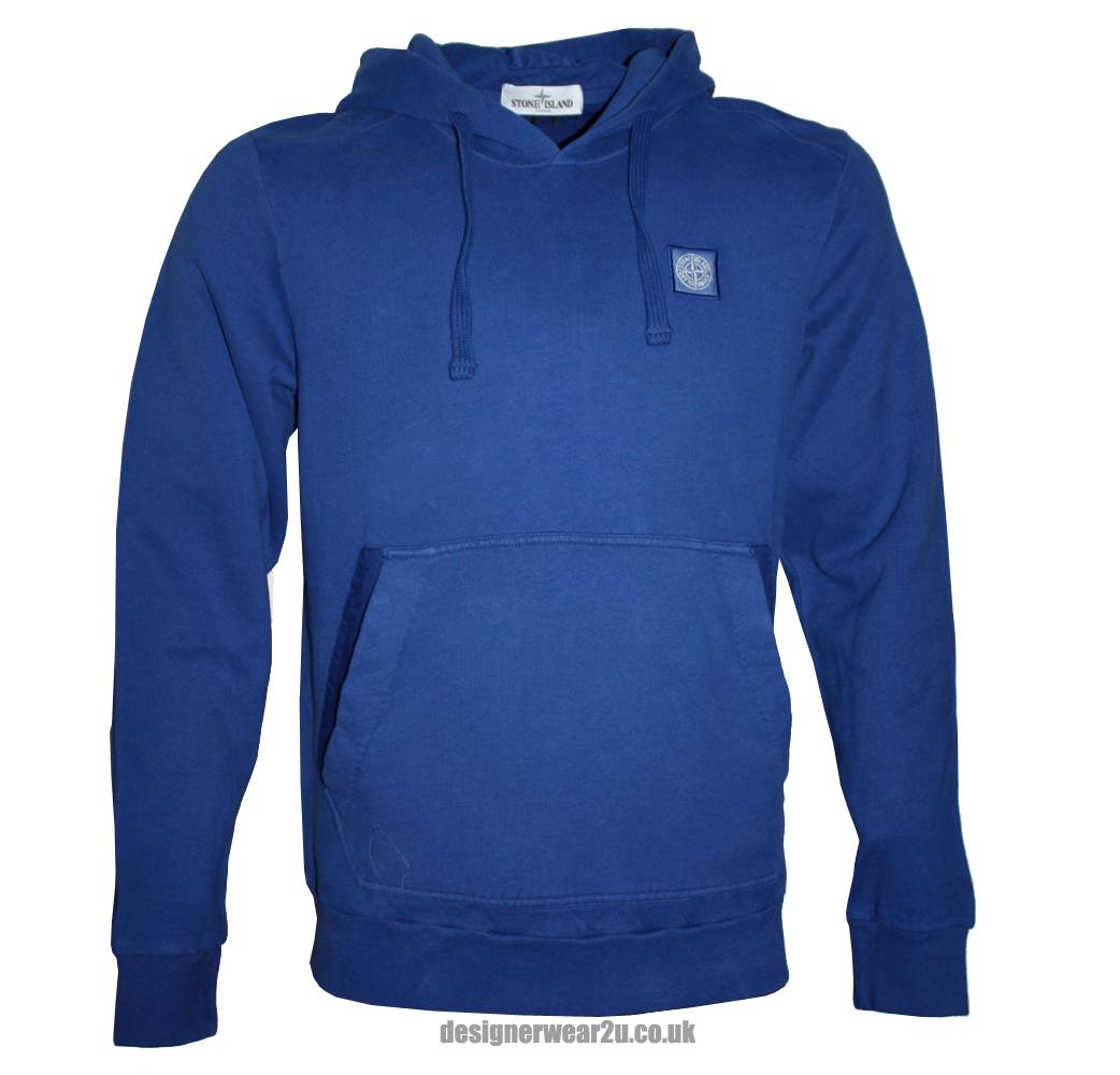 stone island blue hooded sweatshirt sweatshirts from. Black Bedroom Furniture Sets. Home Design Ideas