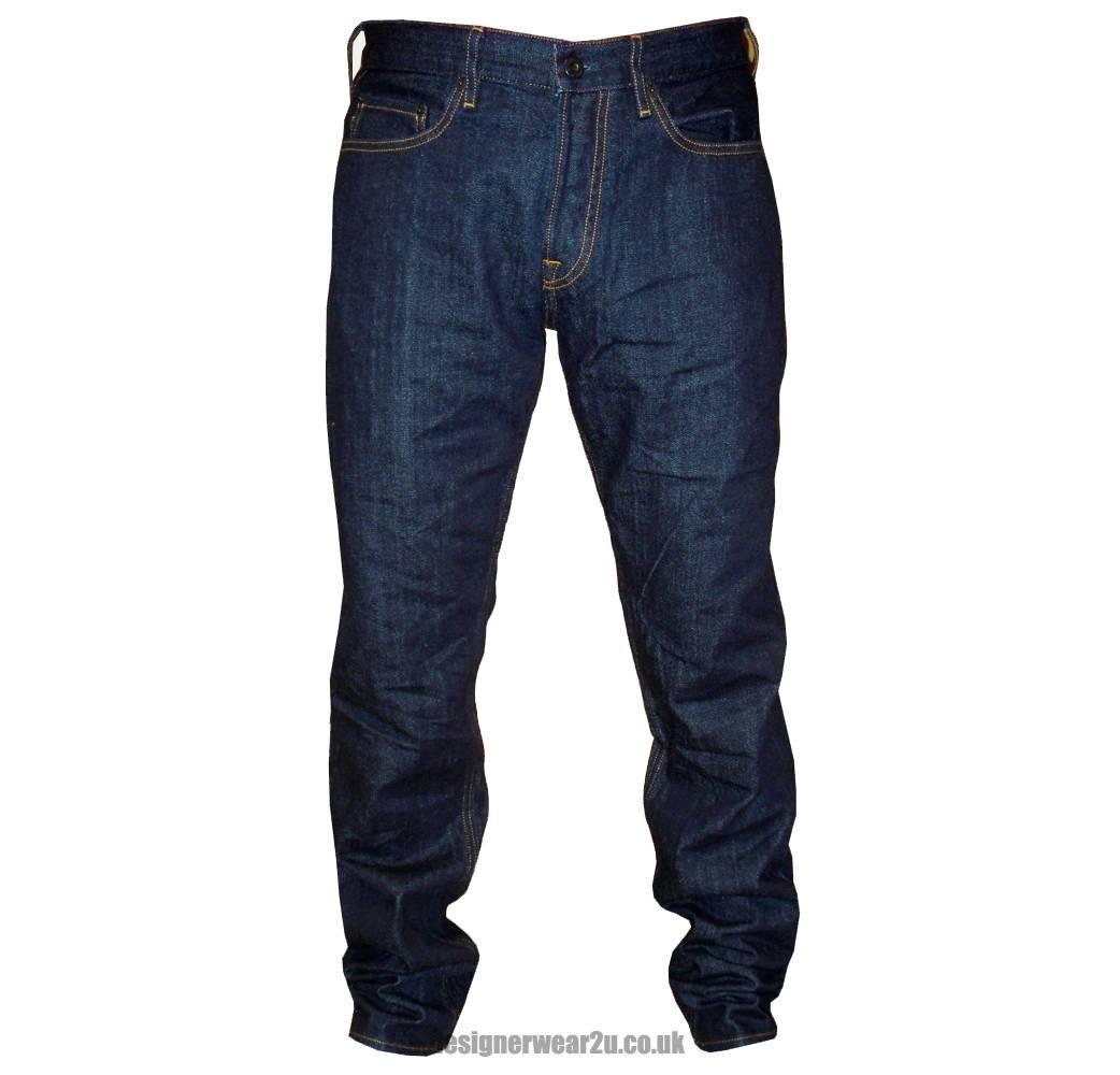 stone island regular tapered fit dark wash jeans jeans. Black Bedroom Furniture Sets. Home Design Ideas