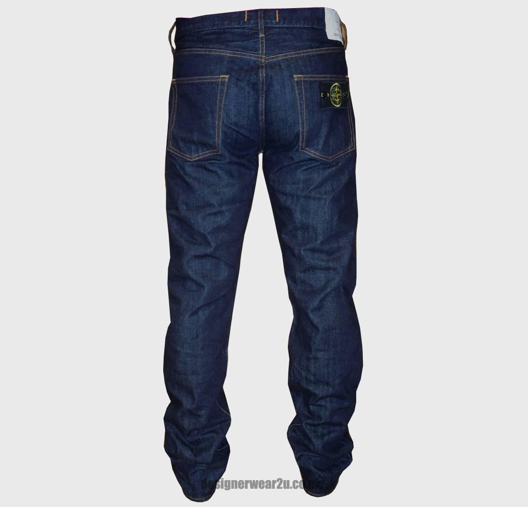 stone island regular fitting dark wash jeans jeans from. Black Bedroom Furniture Sets. Home Design Ideas