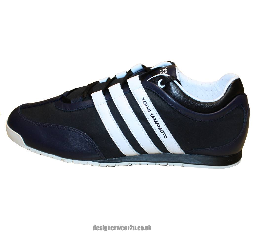 Y3 Navy Boxing Training Shoes Footwear From