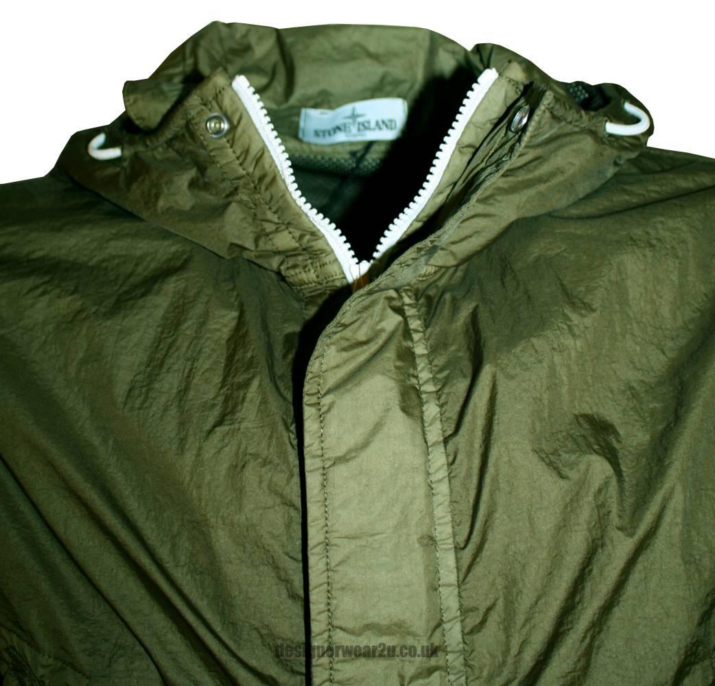 Stone Island Stone Island Khaki Membrana TC Lightweight Jacket