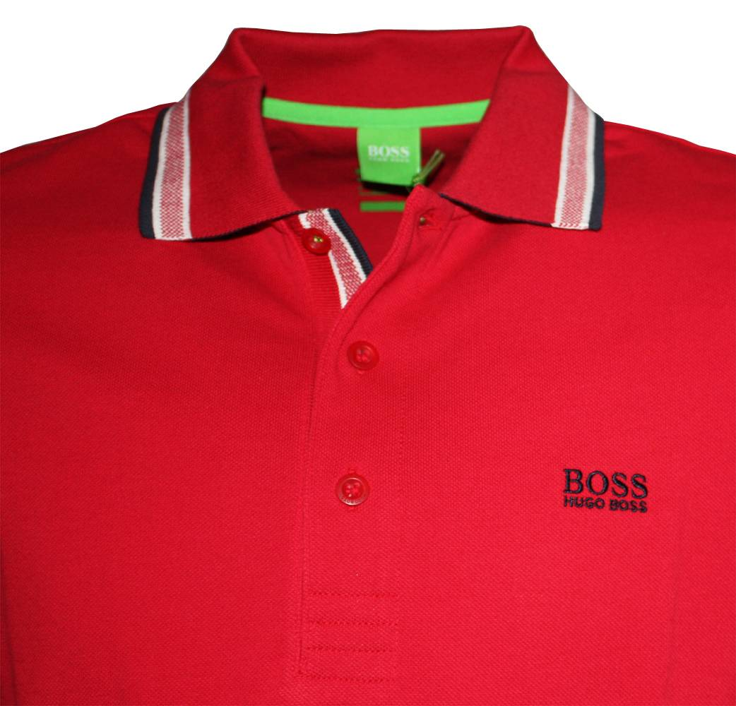 hugo boss green label red paddy polo shirt polo shirts from designerwear2u uk. Black Bedroom Furniture Sets. Home Design Ideas