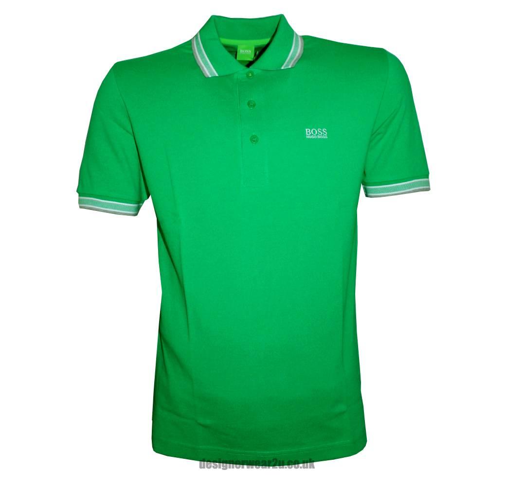 hugo boss green label paddy green polo shirt polo shirts. Black Bedroom Furniture Sets. Home Design Ideas