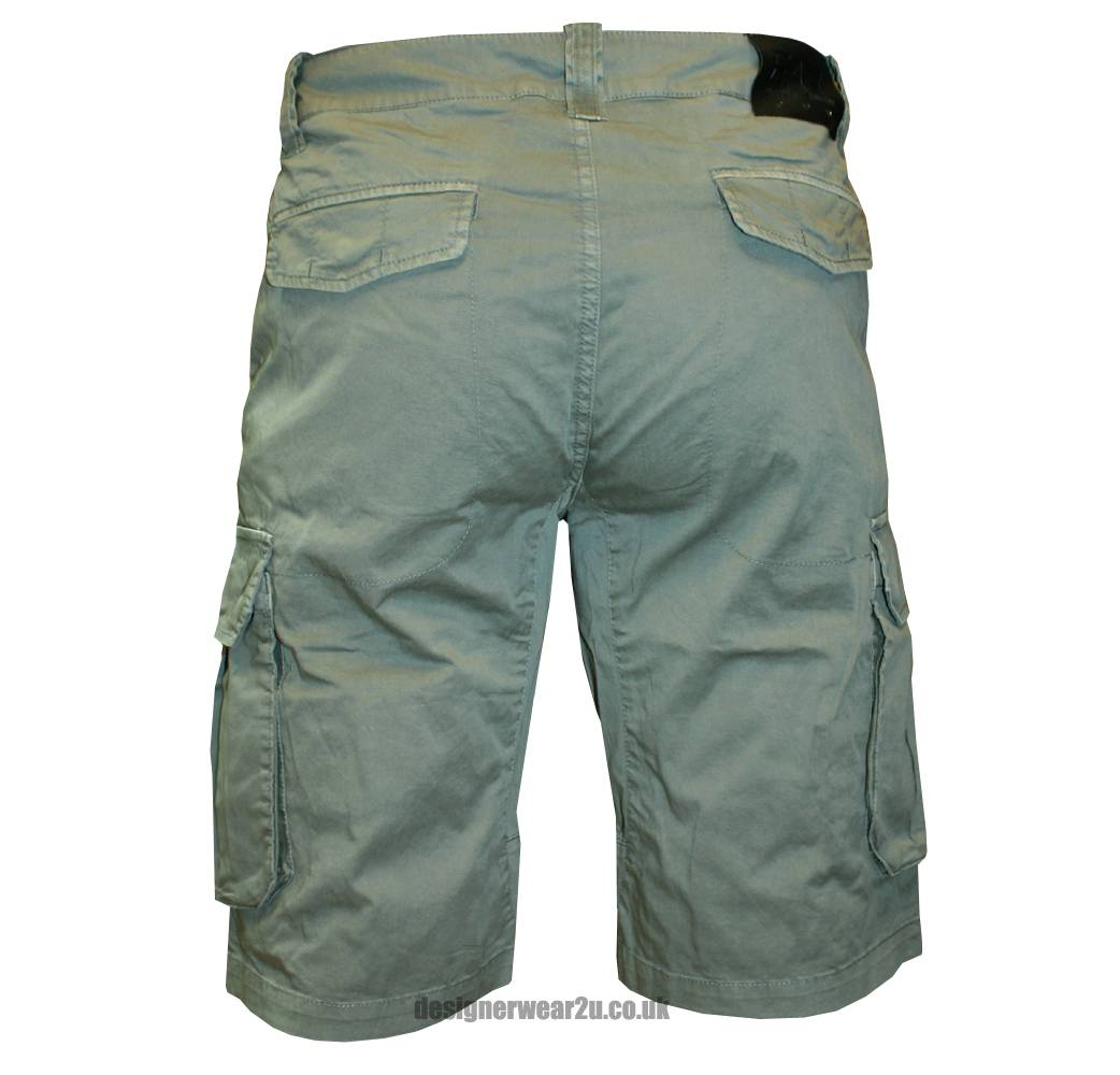 ea7 khaki cargo shorts shorts and swimwear from