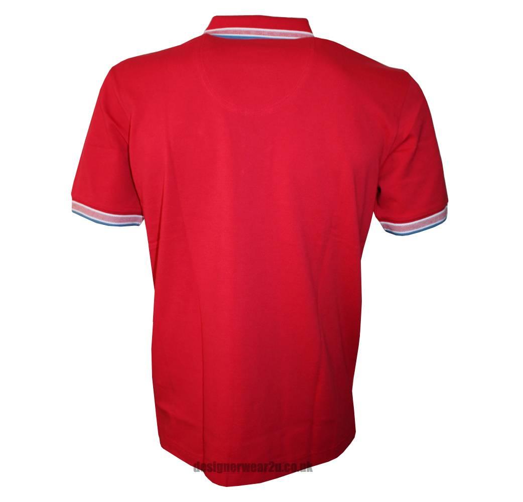 Hugo Boss Green Label Red Paddy Polo Shirt Polo Shirts