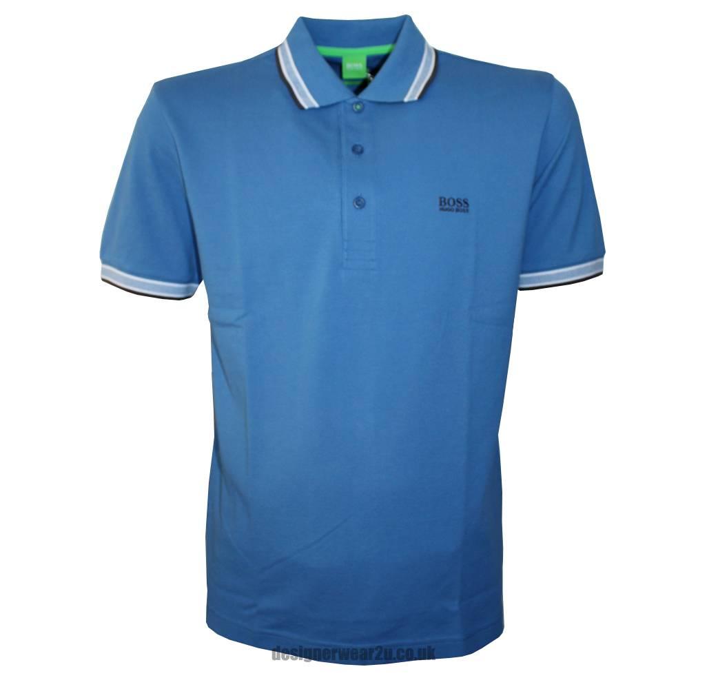 hugo boss green label paddy blue polo shirt polo shirts. Black Bedroom Furniture Sets. Home Design Ideas