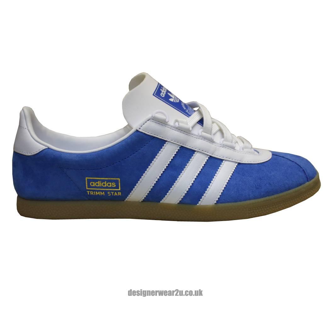 Blue Adidas Originals Trainers