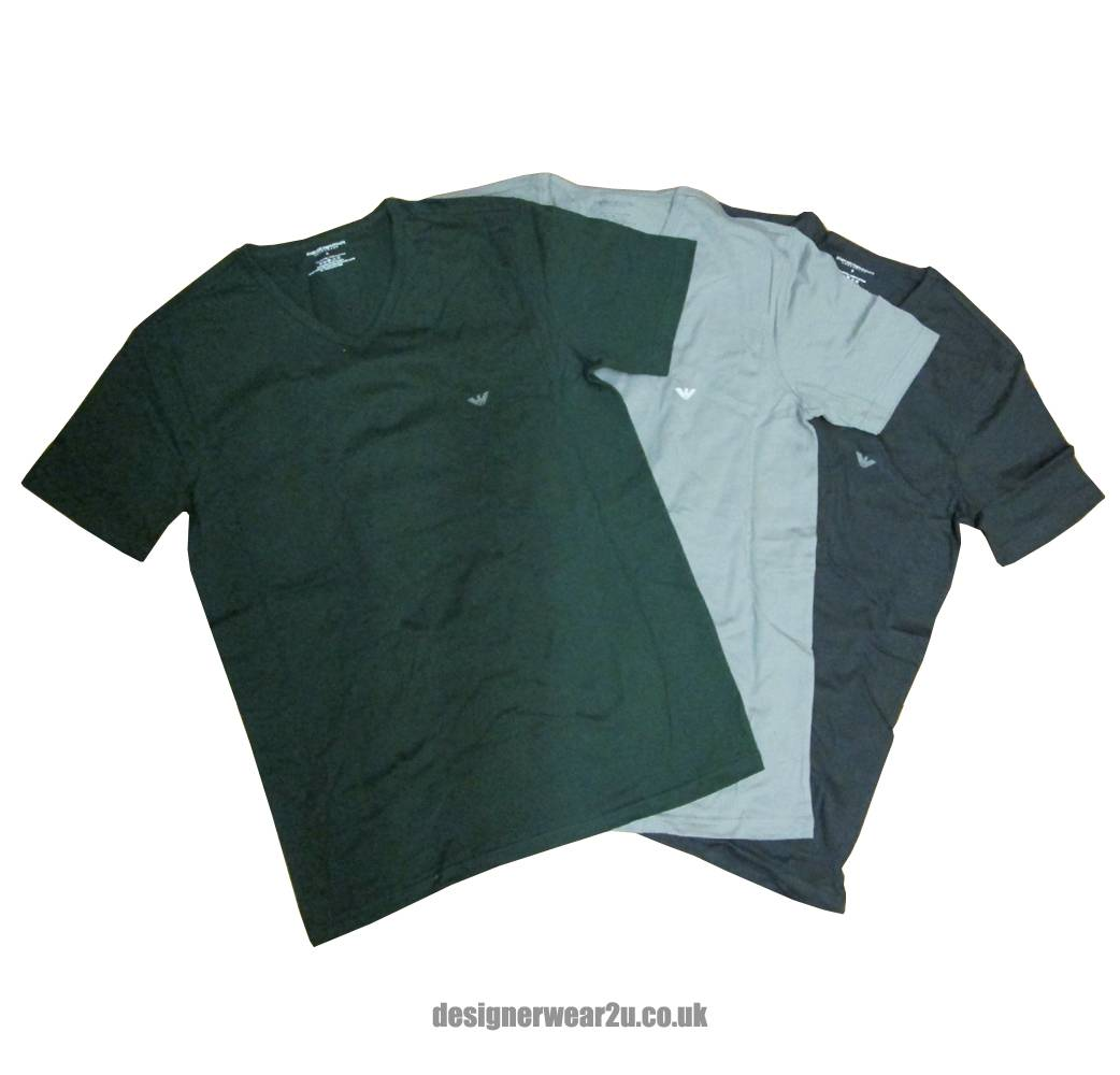 Armani t Shirt Pack Emporio Armani Value 3 Pack