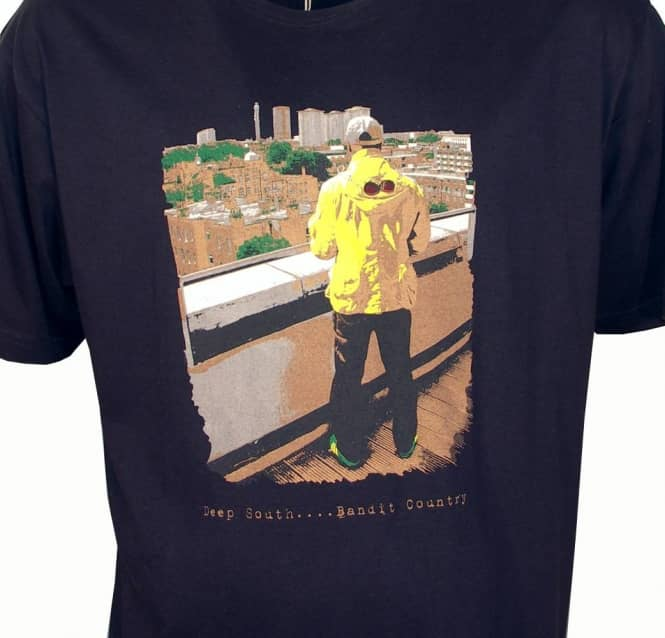8e1845c9 80s Casuals Deep South Navy Blue T-Shirt