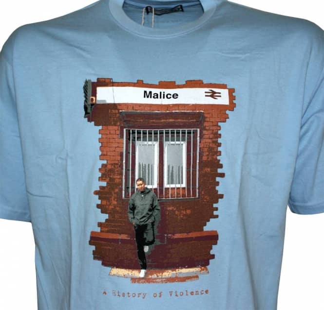 19258af5 80s Casuals Malice Sky Blue T-Shirt