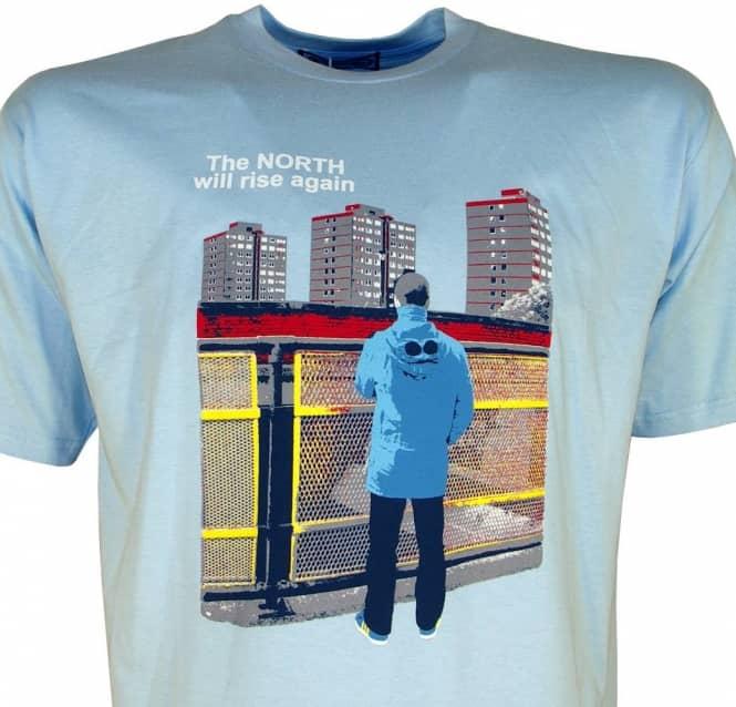 6006b1ef 80s Casuals North Rise T-Shirt Sky Blue