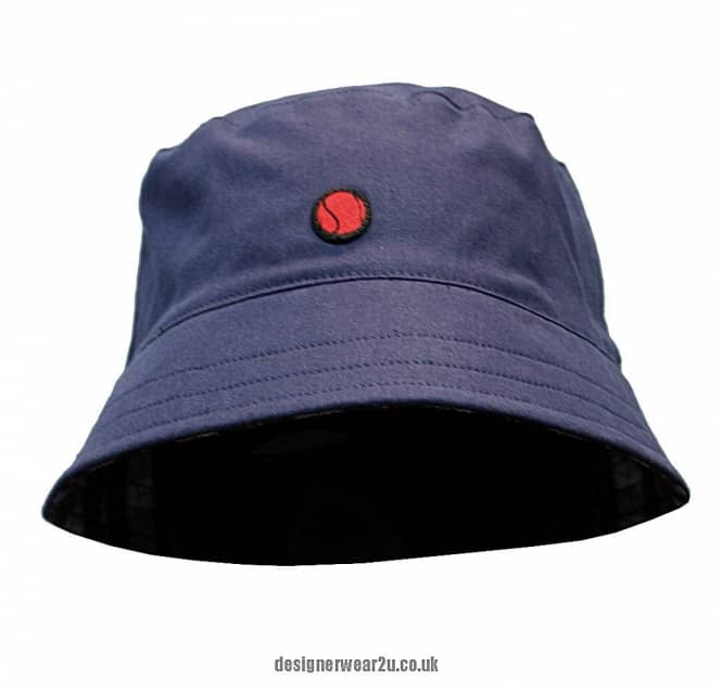 80s Casuals Rio Bucket Style Sun Hat in Navy - Headwear from DesignerWear2U  UK 2f8f9ec3261