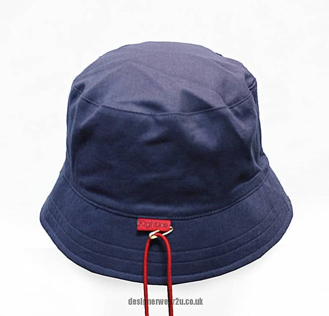 af6bc07219a sale 80s casuals rio bucket style sun hat in navy ba83b c4c22